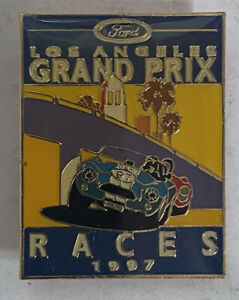 LOS ANGLES GRAND PRIX 1997 PIN NEW .