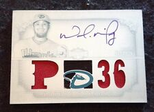 2013 Topps Triple Threads White Whale 1/1 Wade Miley Relic Auto True 1/1