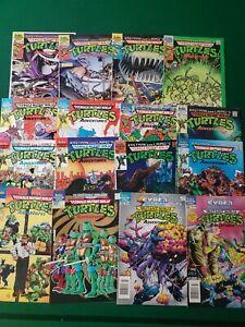 Teenage Mutant Ninja Turtles Adventures 1-66 Archie Lot of 16 different