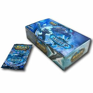 T-Chinese SCOURGEWAR Booster 24 Sealed Packs WOW World of Warcraft