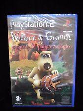 Wallace & Gromit en el proyecto del parque Zoologico de Bam para Sony PS2 usado