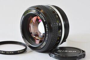 [Rare MINT+++] Nikon Ai Nikkor 55mm F1.2 1978 Last Ver. Prime MF from Japan N514