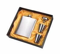 Stainless Steel Hip Flask 7 Oz (210 ml - Liquor Flask Set UK