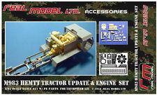 M983 HEMTT Update Engine set 1/35 Real Model resin RMA35288 Trumpeter