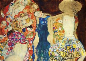 Gustav Klimt - The Bride - HUGE A1 size 59.4x84cm QUALITY Canvas Print Unframed