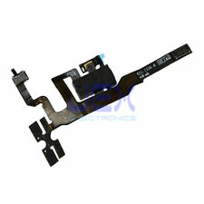 Black Headphone jack Flex Cable for Iphone 4S Volume button/silent switch/Mic