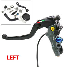 Left CNC 22MM Race Motorcycle Master Cylinder Clutch Brake Lever 19RCS Fittings