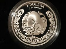 Australia 2009 Proof Silver Dollar Year Of The Ox