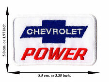 Chevrolet Car Racing Automobile V04 Logo Applique Iron on Patch Sew For Jeans