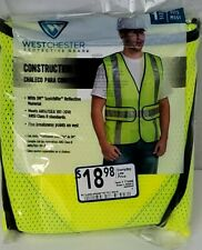 West Chester Protective Gear High Visibility Reflective Safety Vest