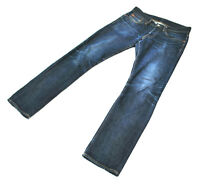 RRL Slim Rigid Selvedge Straight Jeans 29x30 DoubleRL Distressed Faded Butler