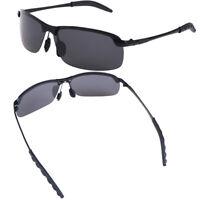 Herren Sonnenbrille Polarized Aviator Metallbrille Sport MW
