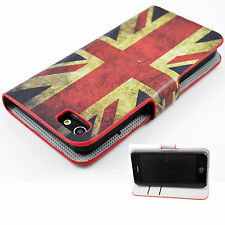 Fashion Leather Slots Wallet Flip Cover Case Pouch For Apple iPhone 5 5G 5S