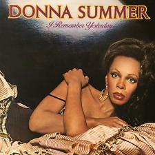 DONNA SUMMER - I Remember Yesterday (LP) (VG+/VG-)