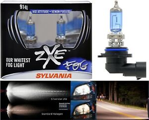 Sylvania Silverstar ZXE 9140 40W Two Bulbs Fog Light Upgrade Replacement Legal