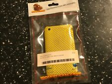 IPHONE 3G 3GS MOBILE PHONE HARD CASE smart yellow mesh finish