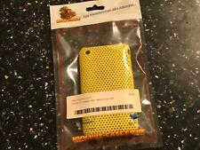 IPHONE 3G 3GS MOBILE PHONE HARD CASE smart yellow mesh finish