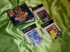 C64 The Dream Team BOX Terminator 2 + WWF WrestleMania + SIMPSONS dischetto Neuw