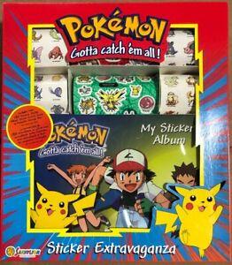 Sandylion Pokemon Sticker Extravaganza Vintage 1999