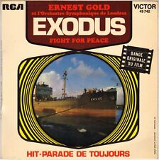 """ERNEST GOLD """"EXODUS / FIGHT FOR PEACE"""" B.O. FILM 70'S SP RCA VICTOR 49742"""