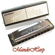Hohner Harmonica - 572 Hot Metal (KEY OF D) NEW