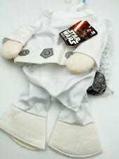 Star Wars Princess Leia Dog Costume Small Halloween Rubie's Costume Company