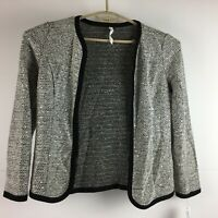 NY Collection Womens Cardigan Grey *NWT*