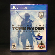Rise of the Tomb Raider: 20 Year Celebration (Sony PlayStation 4) Brand New