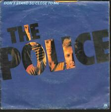 "45 TOURS / 7"" SINGLE--THE POLICE--DON'T SAND SO CLOSE TO ME ""POCHETTE POSTER"""