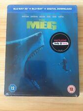 The Meg (3D Blu Ray Steelbook)