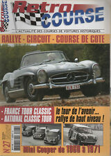 RETRO COURSE 27 L'EPOPEE ROUTIERE DES MINI COOPER 1960 1971 FANCE TOUR CLASSIC