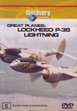 Great Planes - Lockheed P-38 Lightning (DVD, 2003) - Region 4