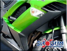 11-17 Kawasaki Ninja 1000 Shogun No Cut Black Frame Sliders