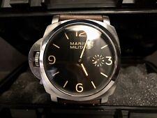 Modificado Marina Militare 'izquierda' Manual 47mm PAM00217 Reloj de visualización ex homenaje