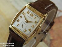 1948 Vintage HAMILTON FORBES, Stunning Silver Dial, Serviced & warranty