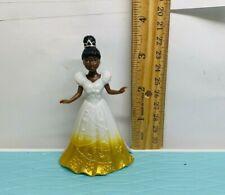 Disney Princess the frog  tiana Polly Pocket ,Magiclip ,GLITTER DRESS DOLL