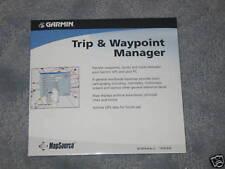 Garmin Mapsource * Trip & Waypoint Manager cd ver 2.02 works w/ windows vista, 7
