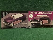 "Danbury Mint "" The 1950 Mercury Custom""  Brochure!"