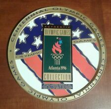 Vintage 1996 CENTENNIAL OLYMPIC GAMES~OFFICIAL COLLECTORS TIN TRAY~13 in. diam.