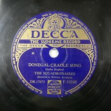 78rpm THE SQUADRONAIRES donegal cradle song / coach call boogie