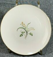 Vintage EDWIN KNOWLES China - FORSYTHIA Dinner Plate - Discontinued