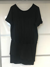 Maje black silk top dress size 1 UK 8 BNWT