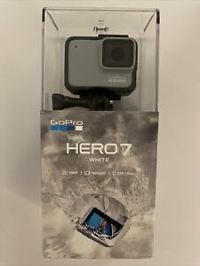 GOPRO HERO7 WHITE WATERPROOF ACTION CAMERA 10MP 1080P TOUCH NEW FACTORY SEALED