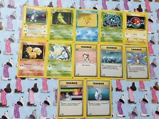 12 Italian 1st Edition Base Pokemon Cards