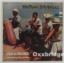 GUY DU ROSIER Haitian Rhythms VOODOO CALYPSO MERENGUE 1957 Decca MONO Rare Vinyl
