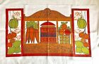 VTG B & D 60s 70s Tea Dish Kitchen Towel Linen Unused 29'x16'  Super Cute!