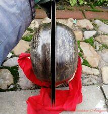 """15"""" Tibetan Temple Ritual Bell Faqi Metal Bell Bronze Cymbals Hand Bell青銅鈸#1585"""