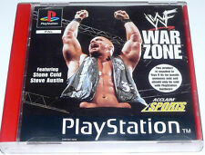 WF War Zone: For Sony PlayStation One