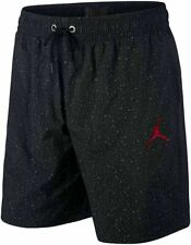 Nike Air Jordan Jumpman Cement Poolside Training Shorts Mens CZ2511 010 NWT