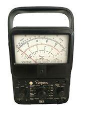 Vintage Simpson 260 Series 6p Analog Volt Ohm Milliammeter Vom Multi Meter